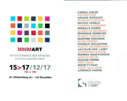 invitation Minim'Art 1